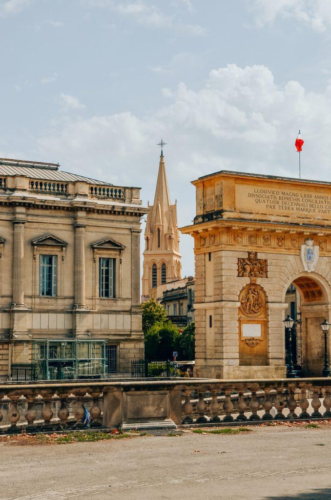 Montpellier-Zuid-Frankrijk