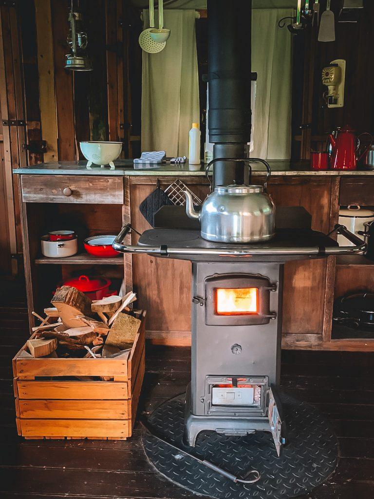 Koken-houtkachel