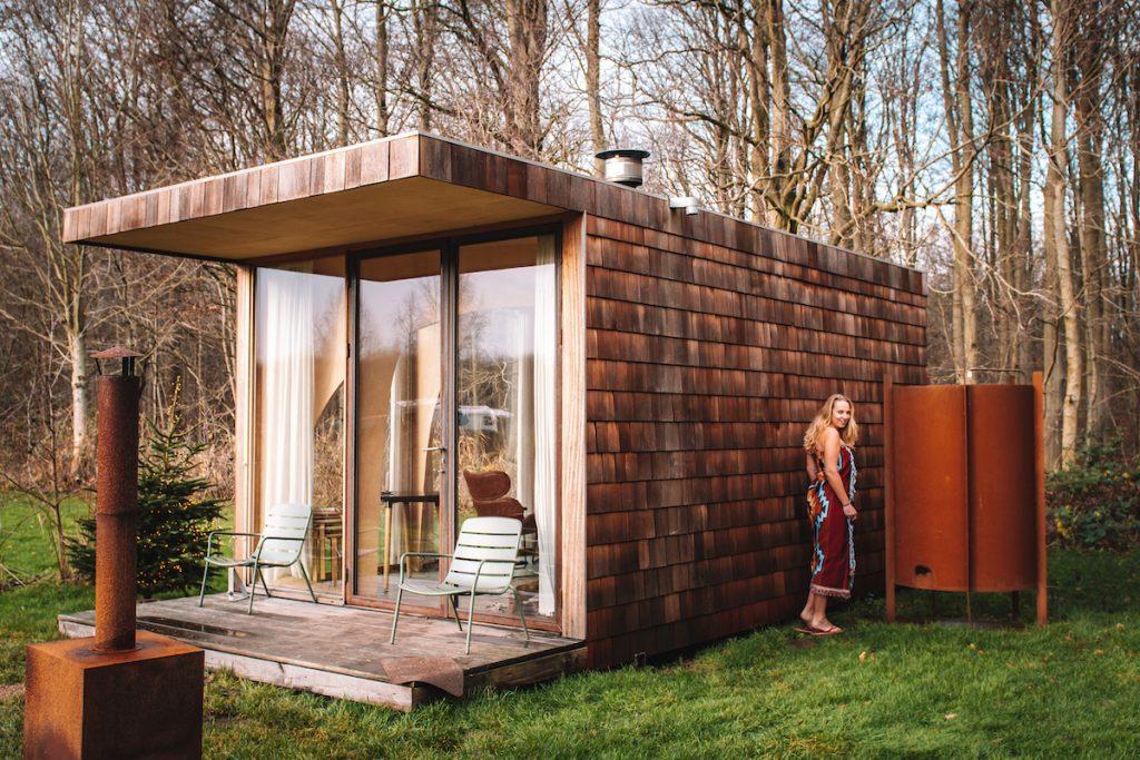 Buitendouche-Nederland-vakantiehuis