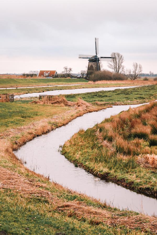 Eilandspolder-Grootschermer-Noord-Holland