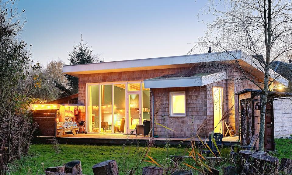 Getaway-Cabin-Huisjes-Nederland-houtkachel