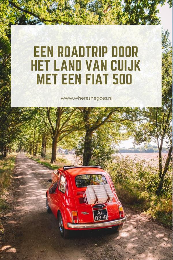 Land-van-Cuijk-Brabant-Fiat-500-huren-Oldtimeverhuur-Mill