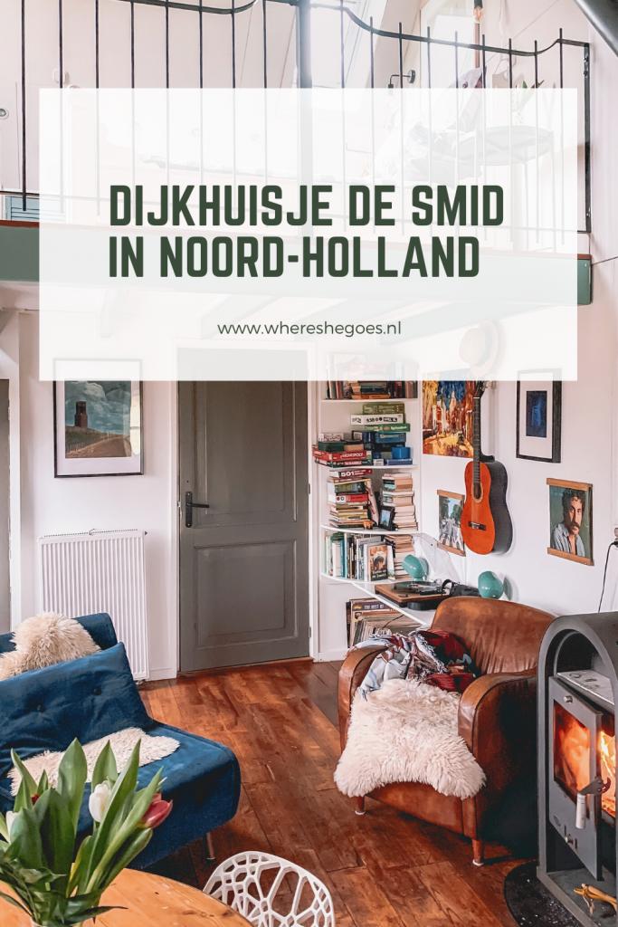 overnachten-dijkhuisje-Noord-Holland-vakantie-huisje-houtkachel