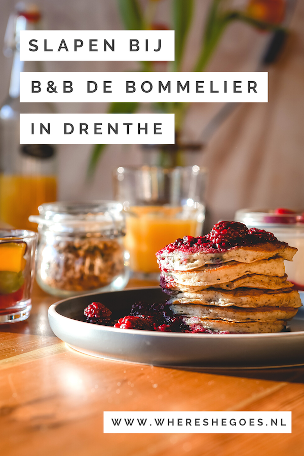 B&B-de-Bommelier-Drenthe-Roderwolde-Overnachten 1
