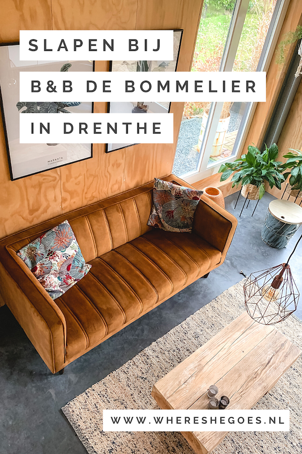 B&B-de-Bommelier-Drenthe-Roderwolde-Overnachten 2