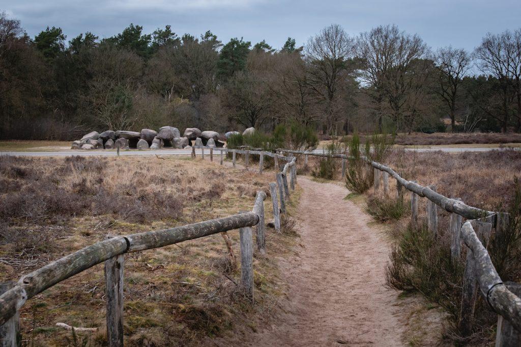 Hunebed-D53-D54-Holtingerveld-wandelen