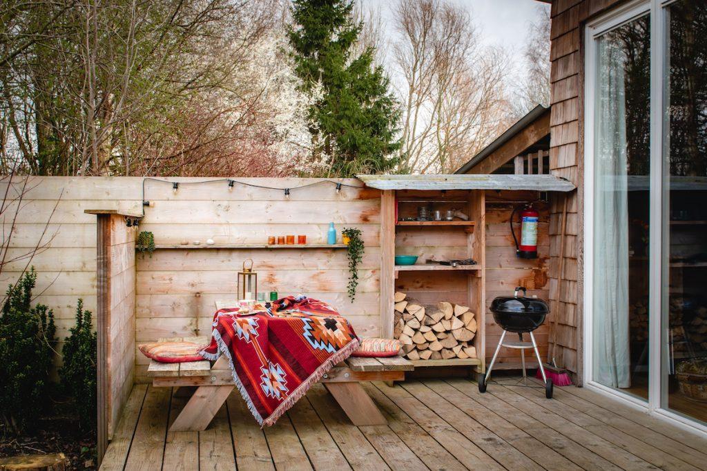 Boshuisje-vakantiehuis-Flevoland-Airbnb-weekendje-weg