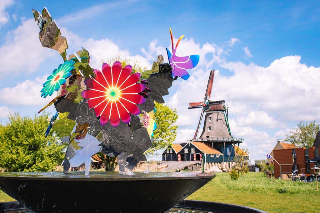 Elfstedenstad-IJlst-fontein