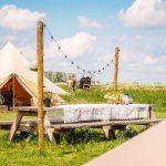Glamping-Smûk-Recreatie-Friesland-Bell-tent-Boerenbed-camping