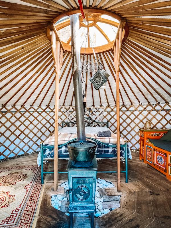 Overnachten-Yurt